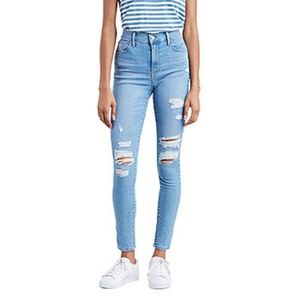 Levis 720 High rise super skinny